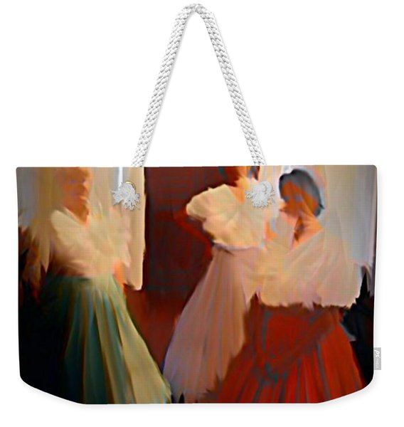 Ghosts Of A Louisianna Plantation Weekender Tote Bag