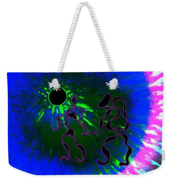 Giddy Night Weekender Tote Bag