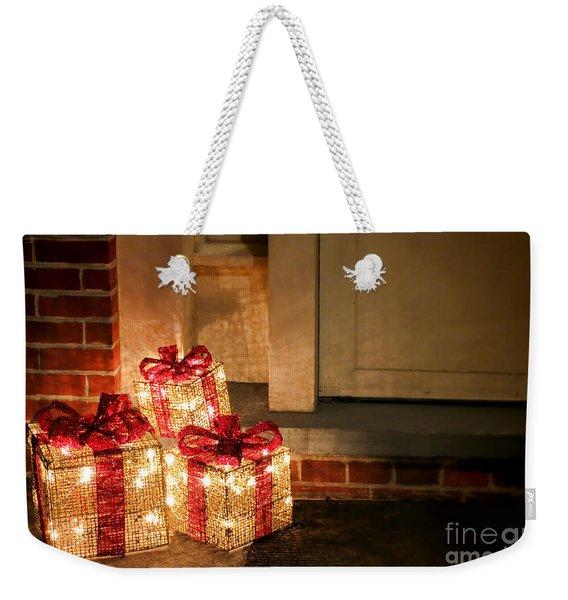 Gift Of Lights Weekender Tote Bag