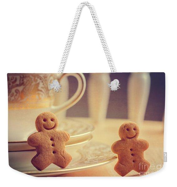 Gingerbread Men Weekender Tote Bag