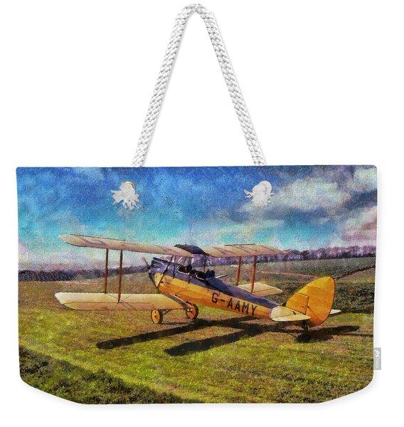 Gipsy Moth Weekender Tote Bag