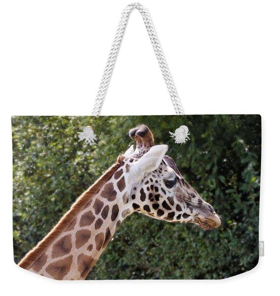 Giraffe 01 Weekender Tote Bag
