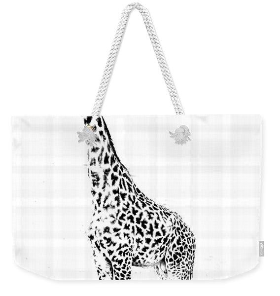 African Giraffe  Weekender Tote Bag