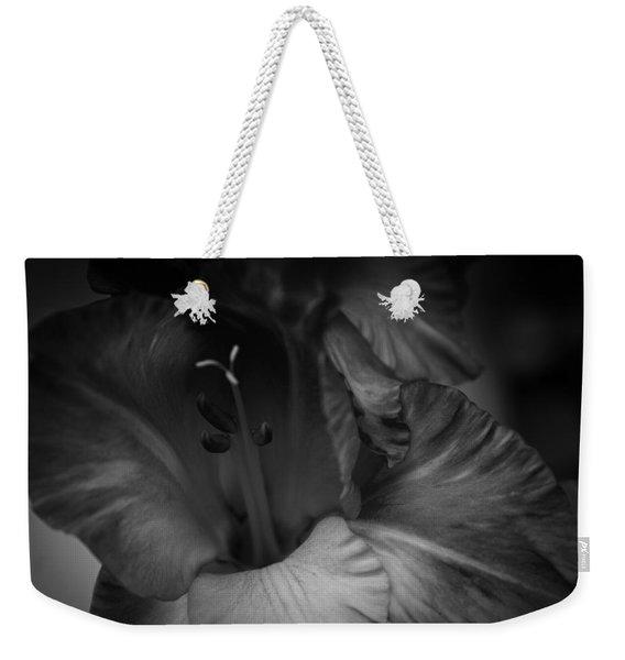 Gladiolus Morning Weekender Tote Bag