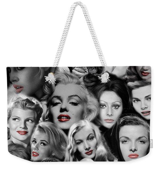 Glamour Girls 1 Weekender Tote Bag