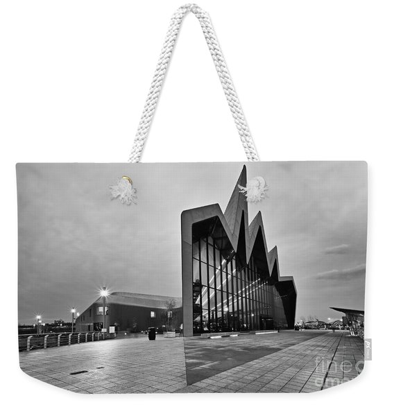 Glasgow Riverside Transport Museum Weekender Tote Bag