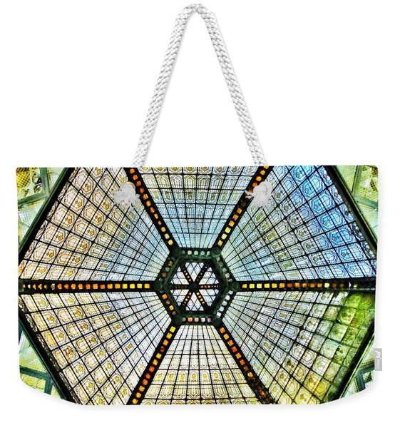Glass Ceiling Dome In Paris Court - Budapest - Hungary Weekender Tote Bag