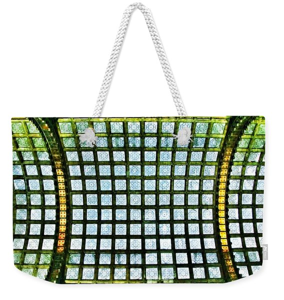 Glass Ceiling In Paris Court - Hungary - Budapest Weekender Tote Bag