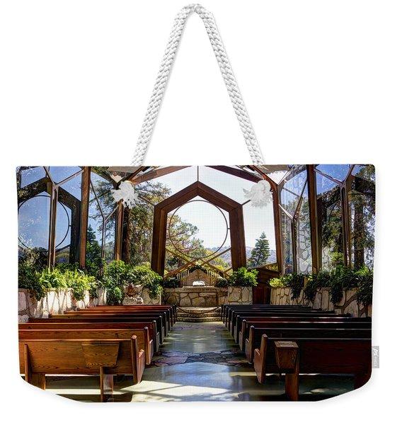 Glass Chapel Weekender Tote Bag