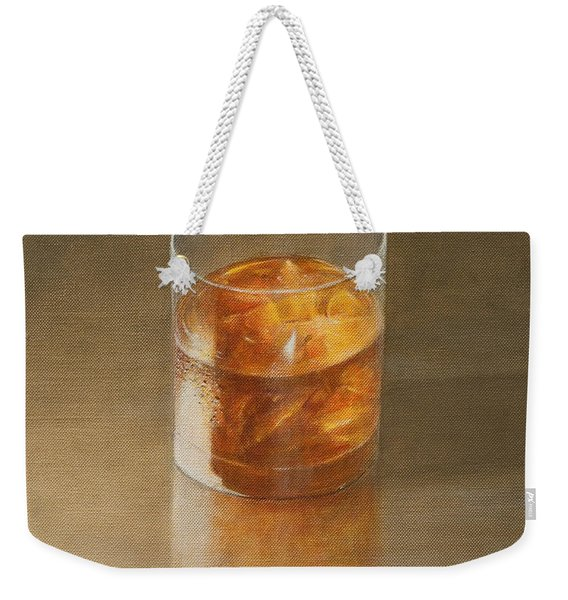 Glass Of Whisky 2010 Weekender Tote Bag