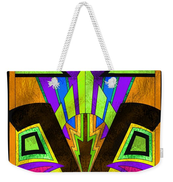 Glass Pattern 5 B Weekender Tote Bag