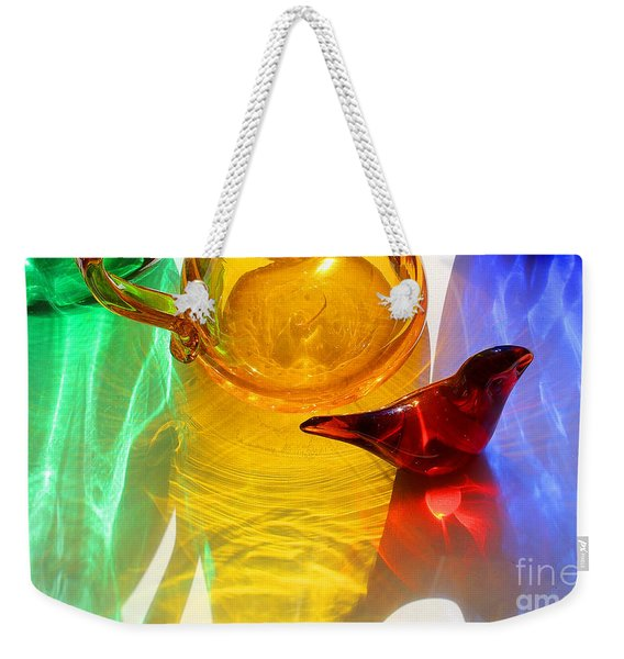 Glass Reflections #8 Weekender Tote Bag