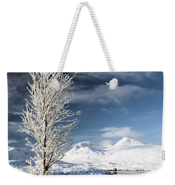 Glencoe Winter Landscape Weekender Tote Bag