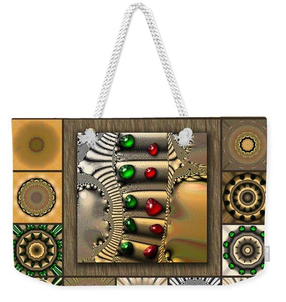 Glimmering Afternoon Redux Weekender Tote Bag