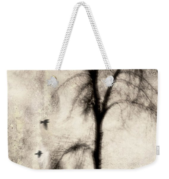 Glimpse Of A Coastal Pine Weekender Tote Bag