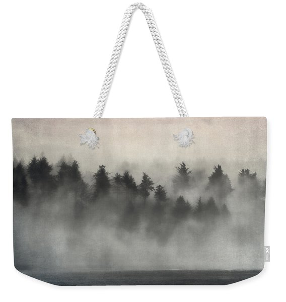 Glimpse Of Mist And Trees Weekender Tote Bag