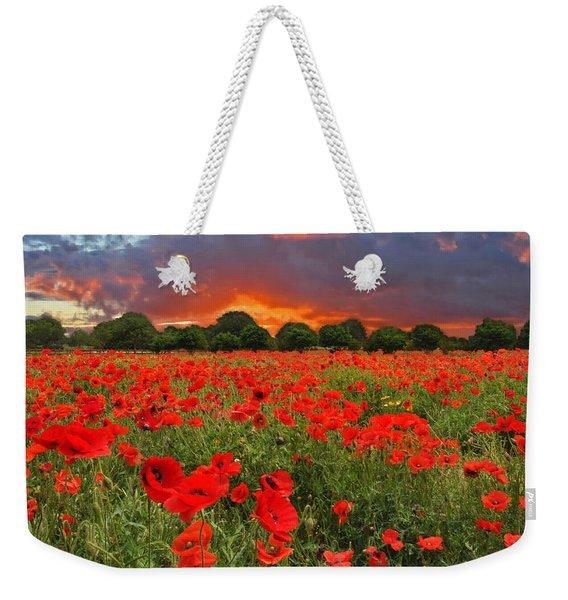 Glorious Texas Weekender Tote Bag