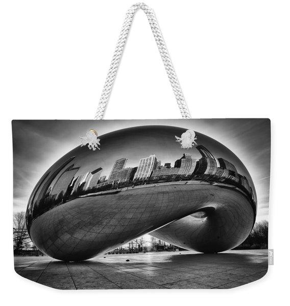 Glowing Bean Weekender Tote Bag