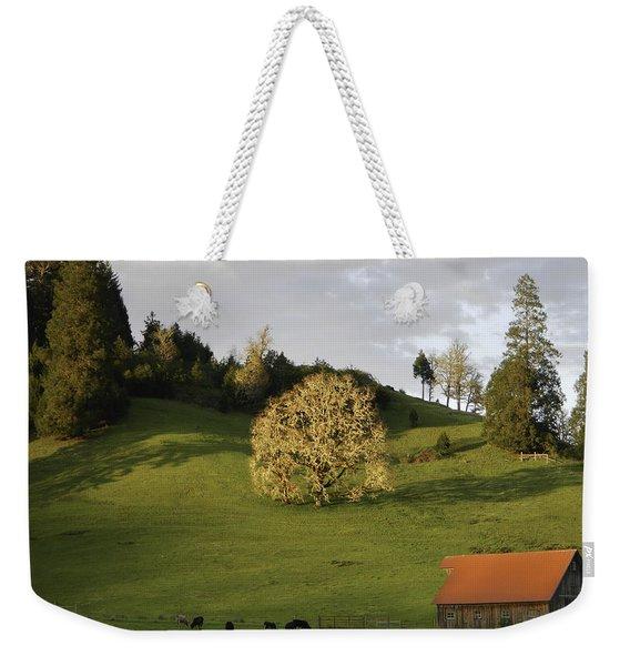 Glowing Tree Moss Weekender Tote Bag