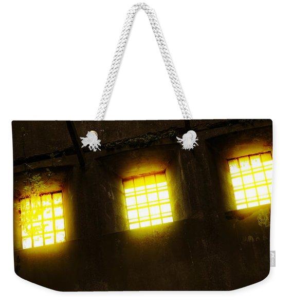 Glowing Windows Weekender Tote Bag