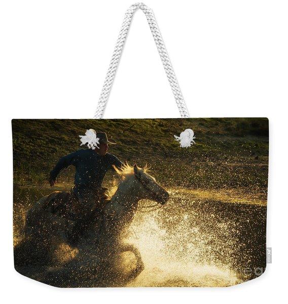 Go Cowboy Weekender Tote Bag