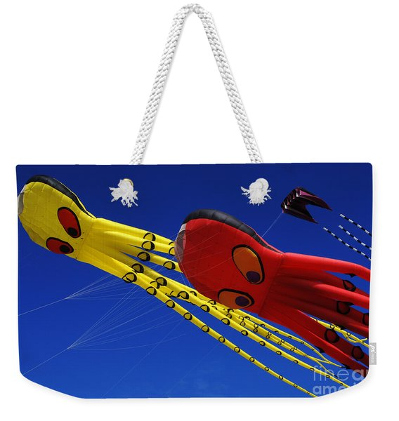 Go Fly A Kite 6 Weekender Tote Bag