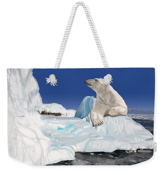 Go With The Floe Weekender Tote Bag