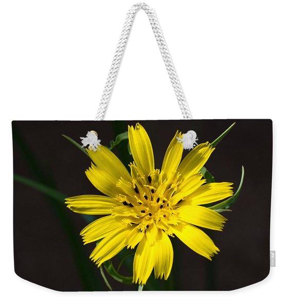 Goats Beard Flower Weekender Tote Bag