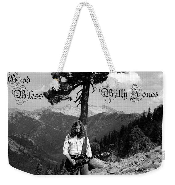 God Bless Billy Jones Weekender Tote Bag