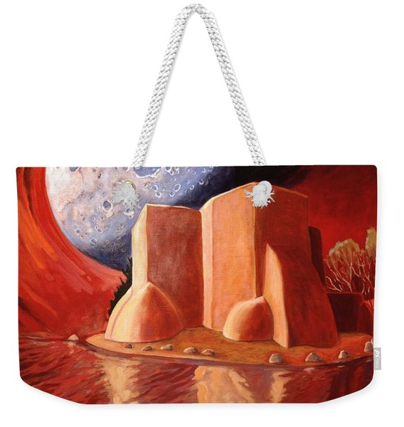 God Is In The Moon Weekender Tote Bag