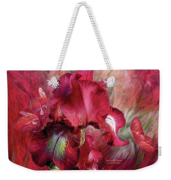 Goddess Of Passion Weekender Tote Bag
