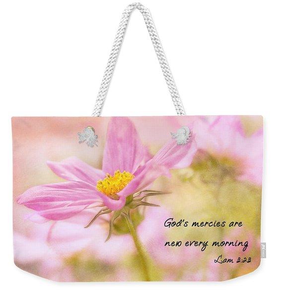 God's Mercies Weekender Tote Bag