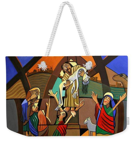 Gods Only Son Weekender Tote Bag