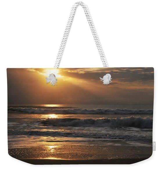 God's Rays Weekender Tote Bag