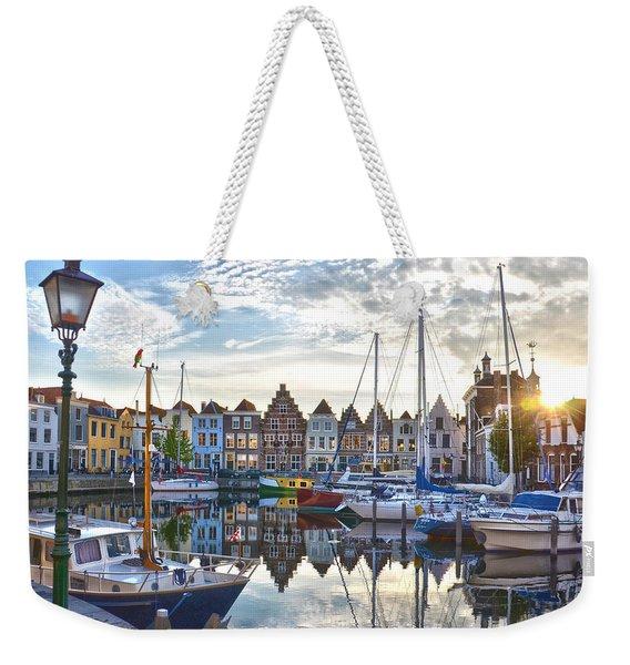 Goes Harbour Weekender Tote Bag