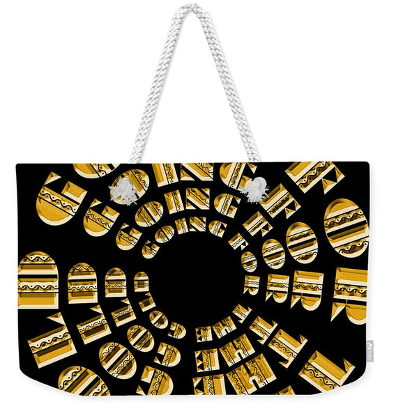 Going For The Gold 1 Weekender Tote Bag