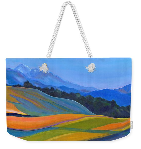 Going To California Weekender Tote Bag