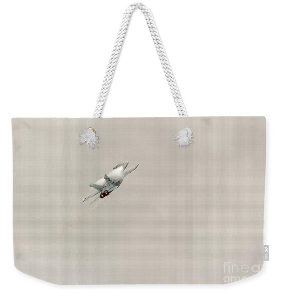 Going Vertical Weekender Tote Bag