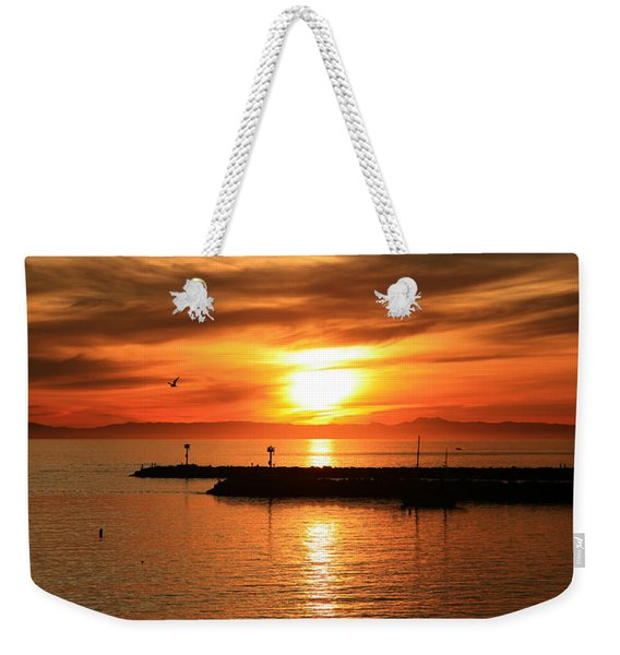 Gold Corona  Weekender Tote Bag