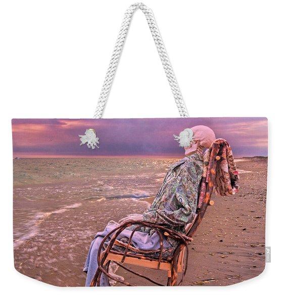 Golden And Grateful Hour Weekender Tote Bag