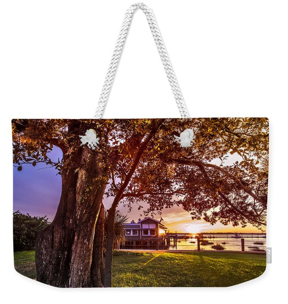 Golden At Jekyll Weekender Tote Bag