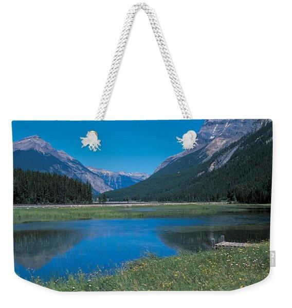 Golden British Columbia Canada Weekender Tote Bag