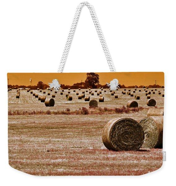 Golden Country Weekender Tote Bag