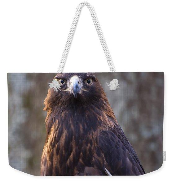 Golden Eagle 4 Weekender Tote Bag
