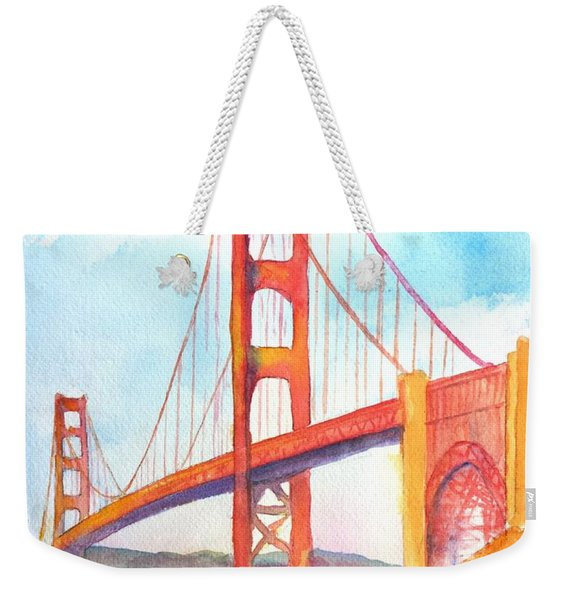 Golden Gate Bridge 3 Weekender Tote Bag