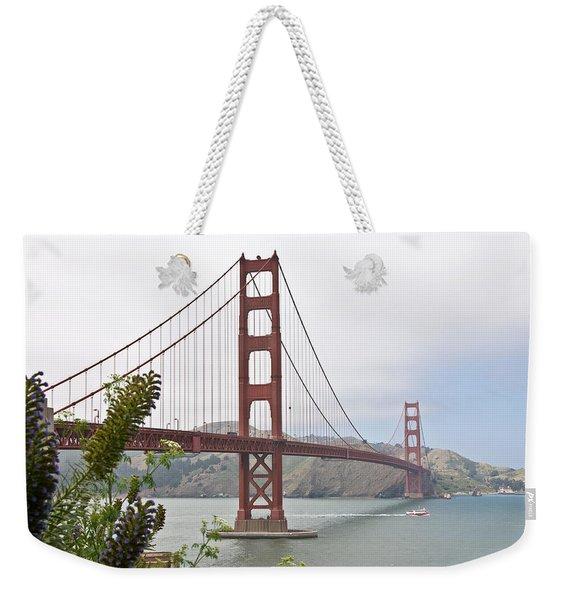 Golden Gate Bridge 3 Weekender Tote Bag