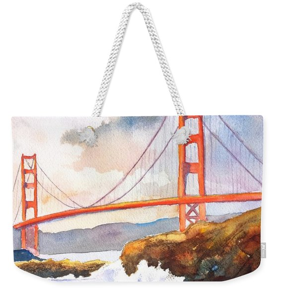 Golden Gate Bridge 4 Weekender Tote Bag