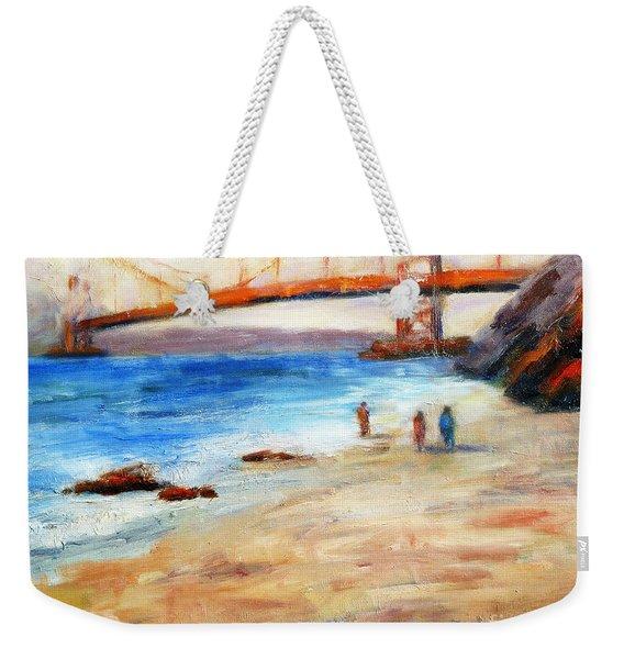 Golden Gate Stroll Weekender Tote Bag