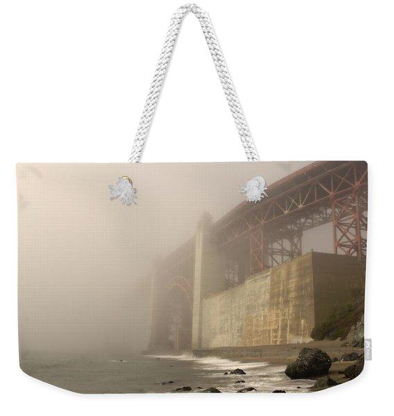 Golden Gate Superfog Weekender Tote Bag