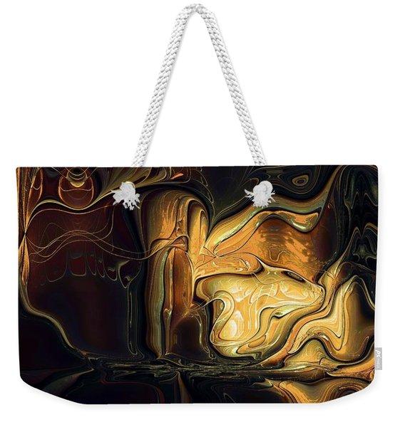 Golden Glory Weekender Tote Bag